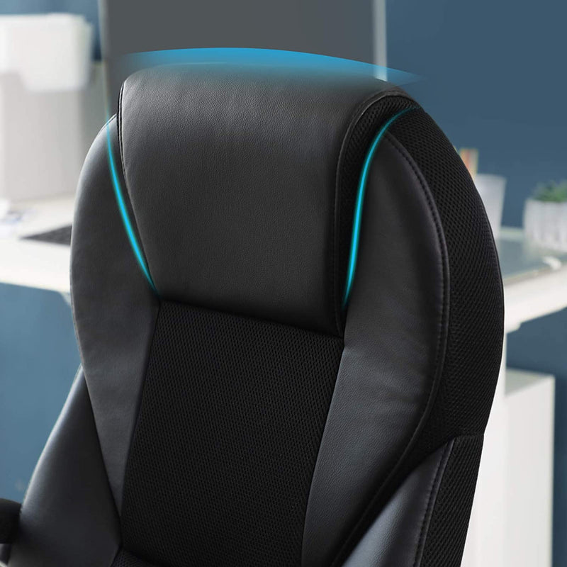 Nancy's Brooklyn Office Chair - Luxury Design Chair - Ergonomic Executive Chair - Leatherette - 150 KG Tax