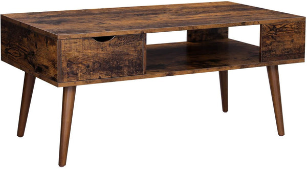 Nancy's Goldendale Coffee table - With Storage - Industrial - Brown - 100 x 50 x 45 cm