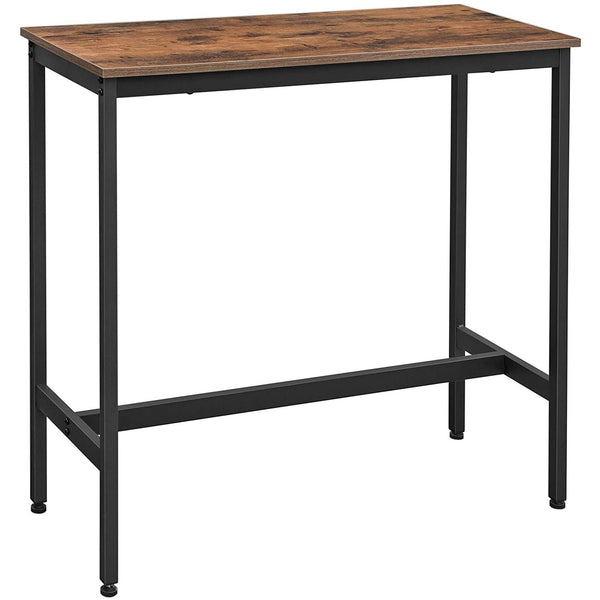 Nancy's Wood Bar table - Vintage Kitchen - Kitchen Bar table - High Office - Industrial - Wood & Metal - 100 x 40 x 90 cm
