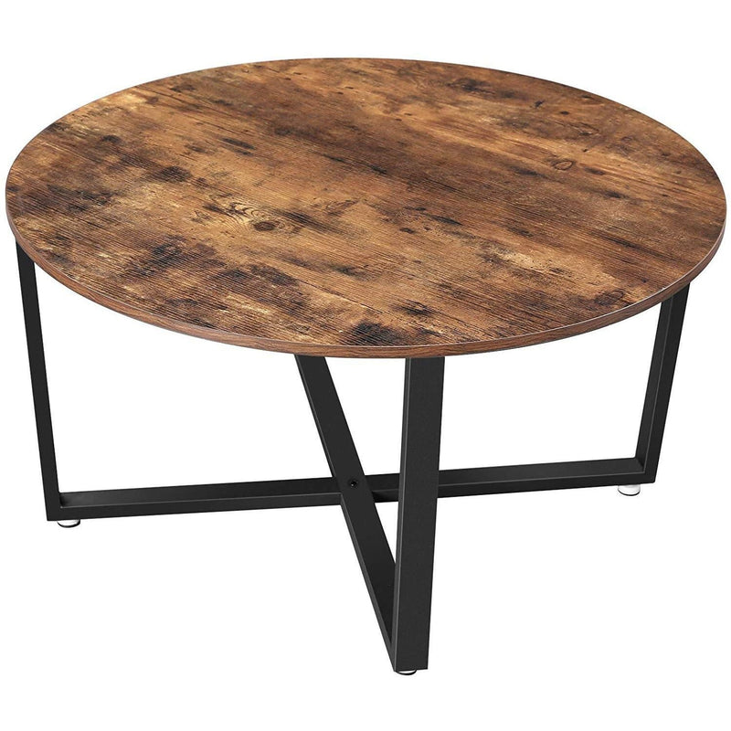 Nancy's Round Coffee Table - Industrial Style - Side Table - Cocktail Table - 88 x 88 x 47 cm