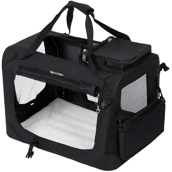 Nancy's Transportbox - Hondenbox - Carrying - Foldable Kattenbox - Black