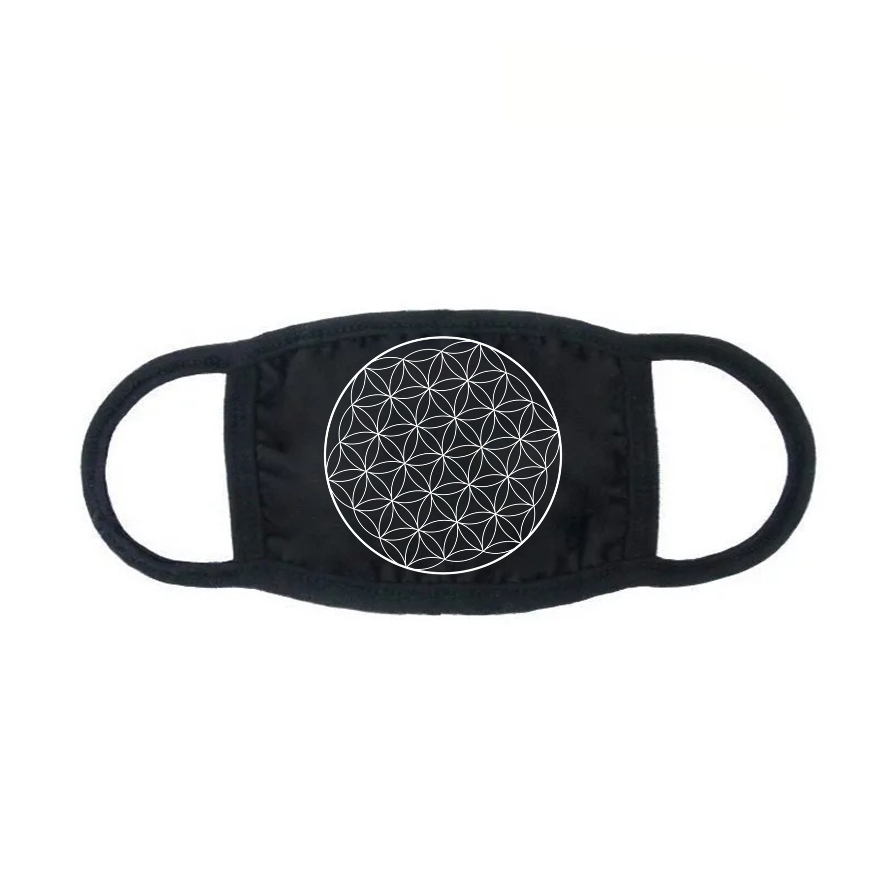 Flower of Life Face Mask