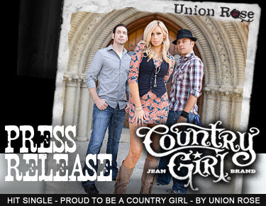 Hit Single - Proud to be a Country Girl Press Release