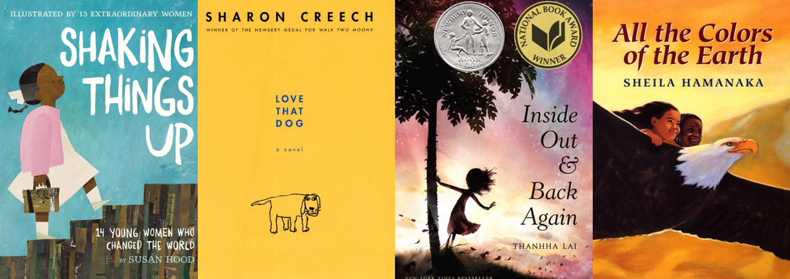 20 Books to Read with Your Child for Poetry Month
