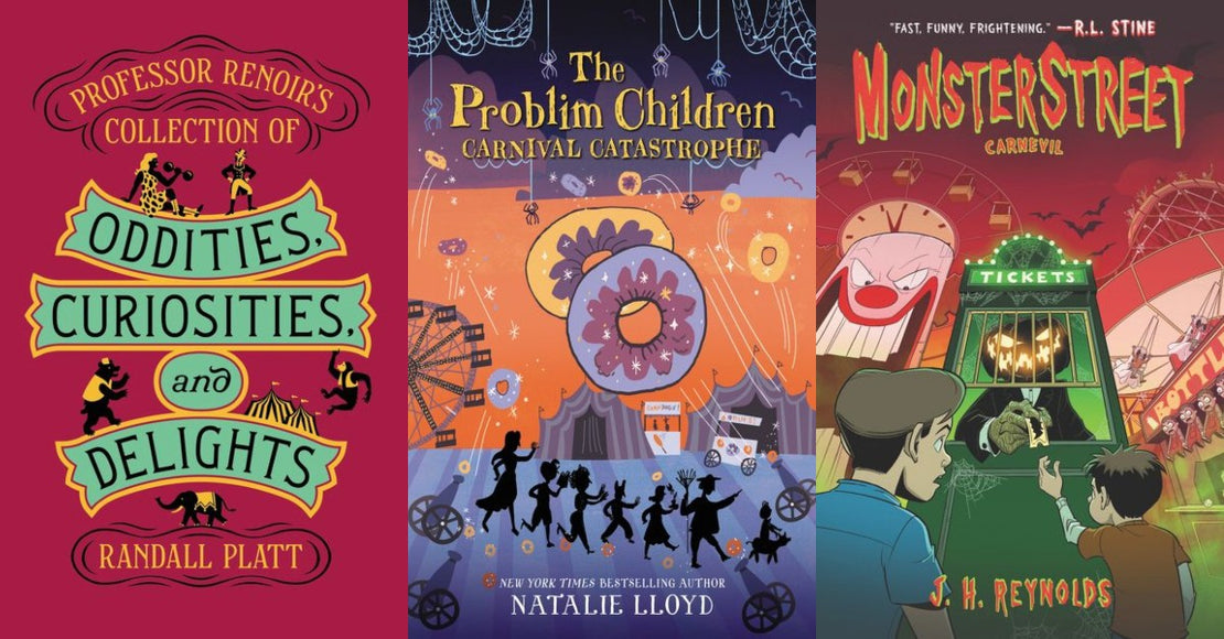 10 Carnival-Themed Books for Kids Ages 8+