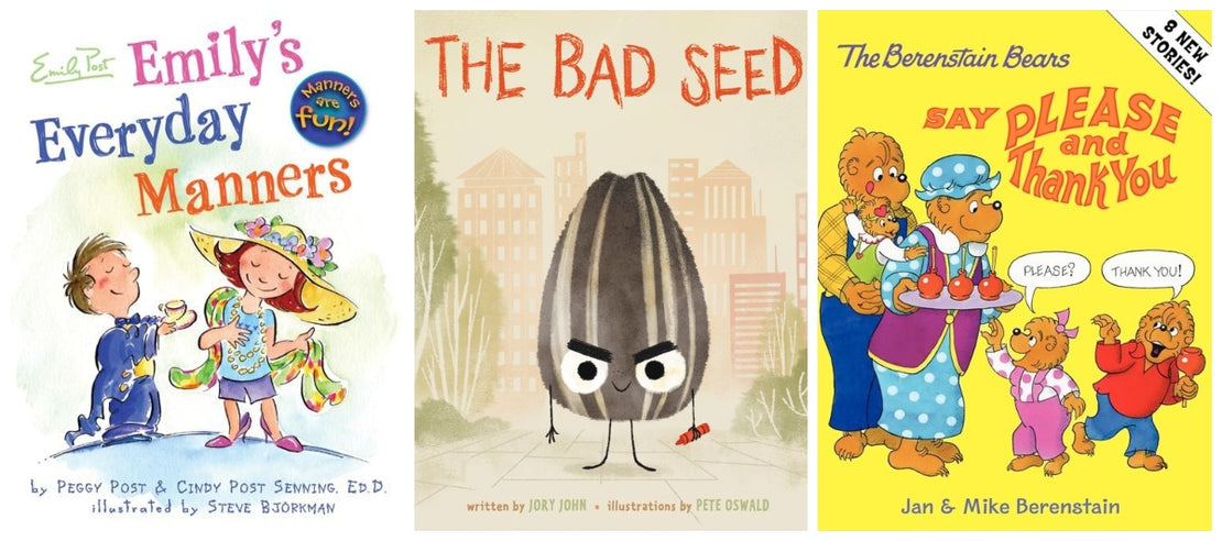 12 Books to Teach Your Child Good Manners