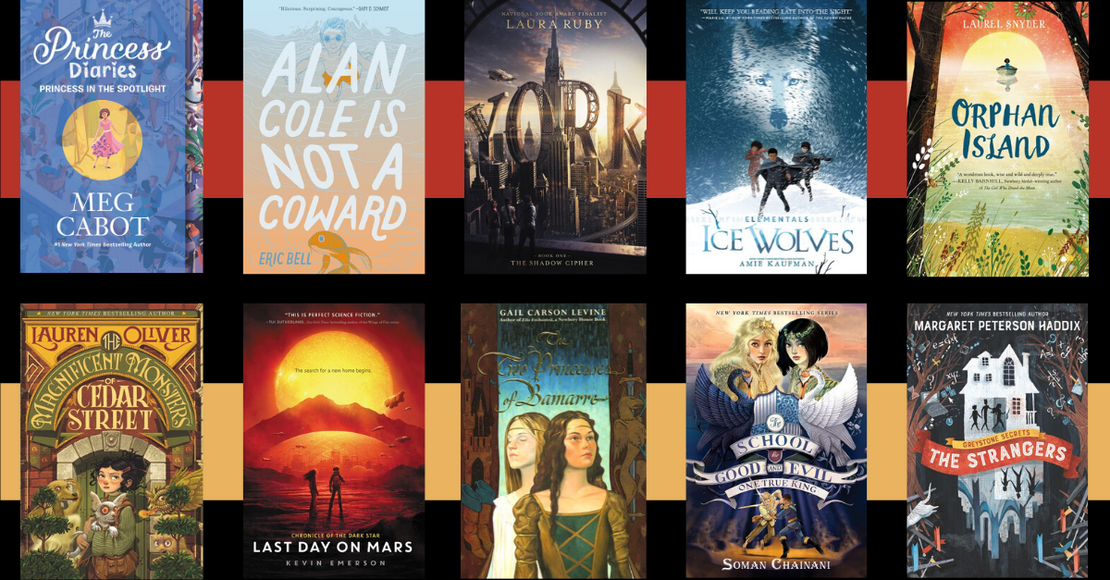 19 Books and Series Transitioning Kids from Middle Grade to YA