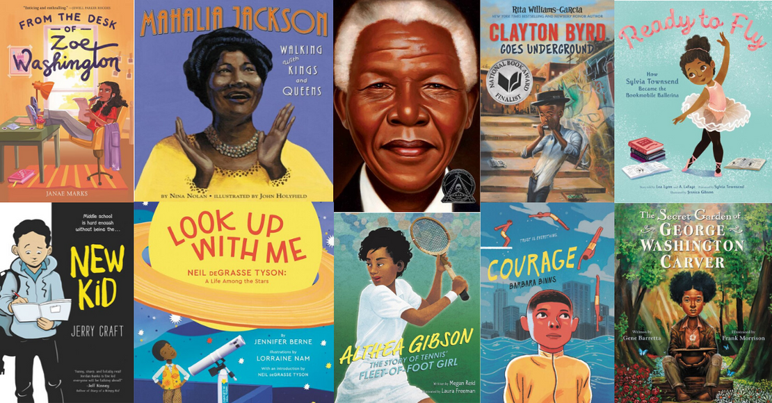 57 Children's Books Featuring Black Protagonists