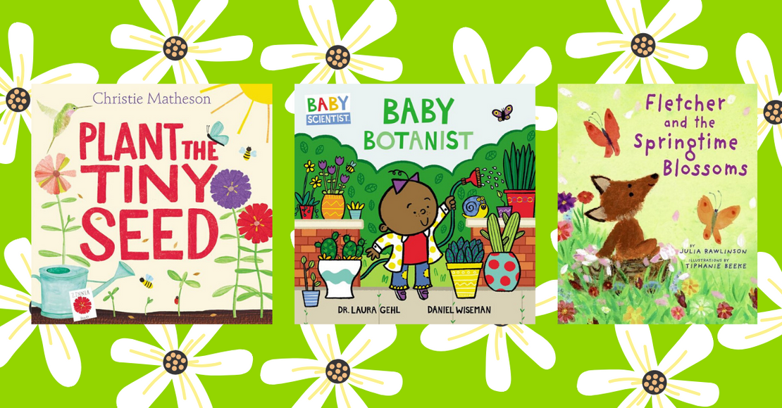 11 Gardening and Plant-Themed Picture Books