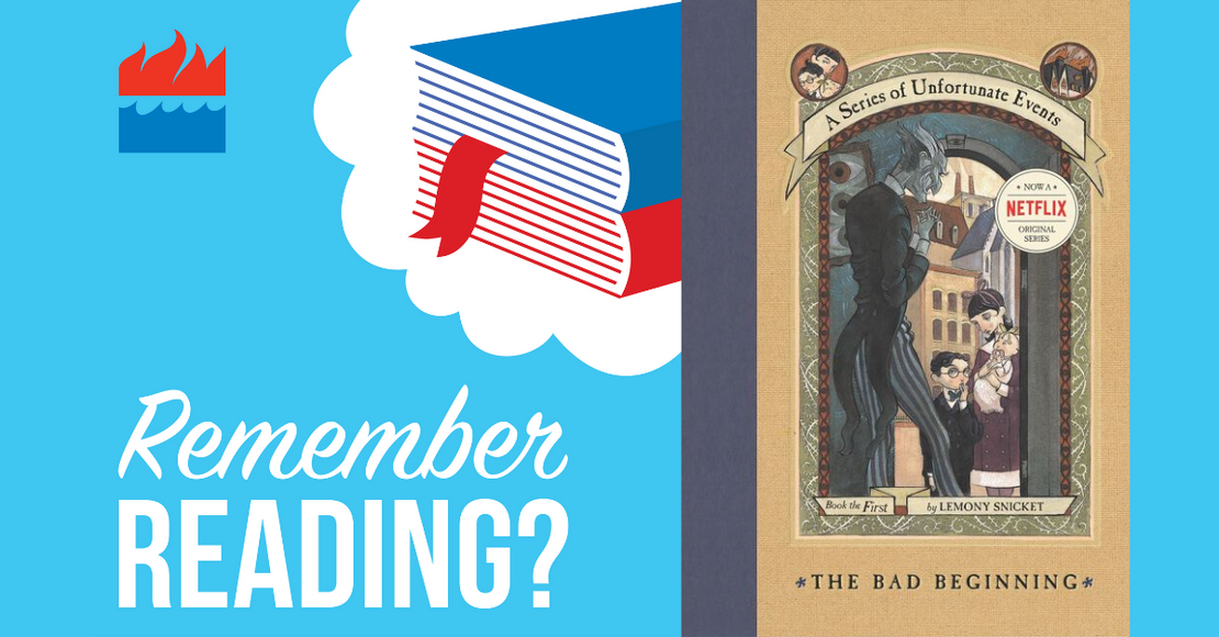 Remember Reading Podcast: A Series of Unfortunate Events