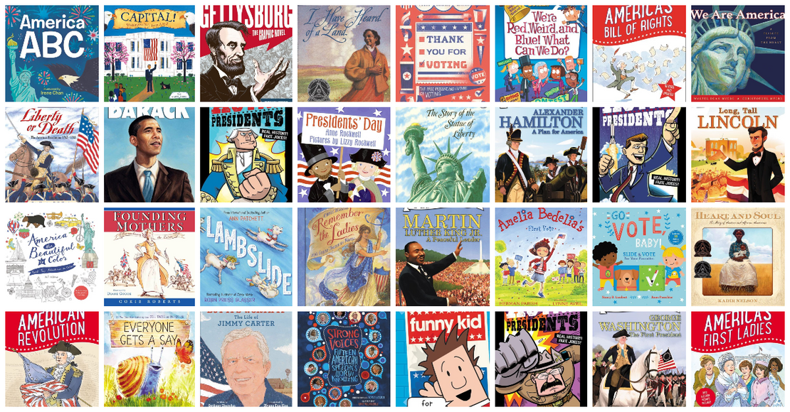 40+ Patriotic Kids Books about U.S. Presidents and American History