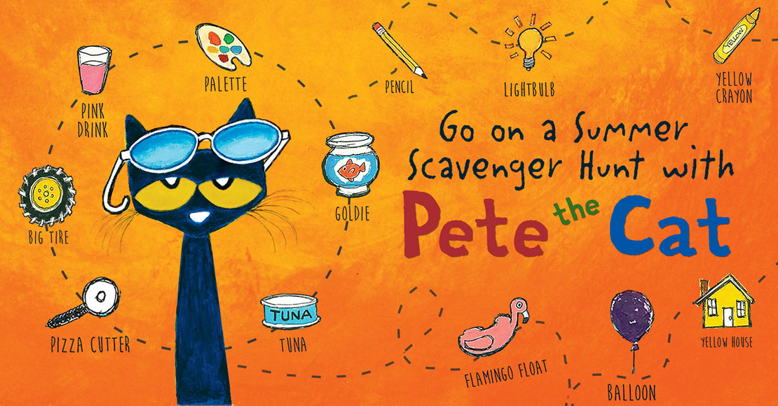 Go on a Summer Scavenger Hunt with PETE THE CAT!