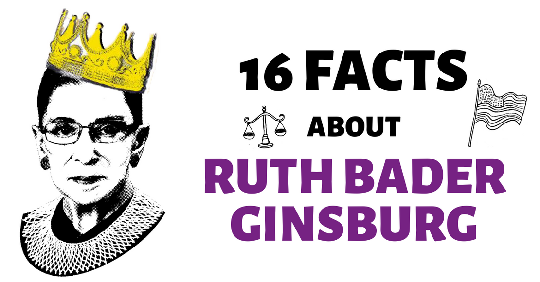 16 Things You Should Know About Ruth Bader Ginsburg