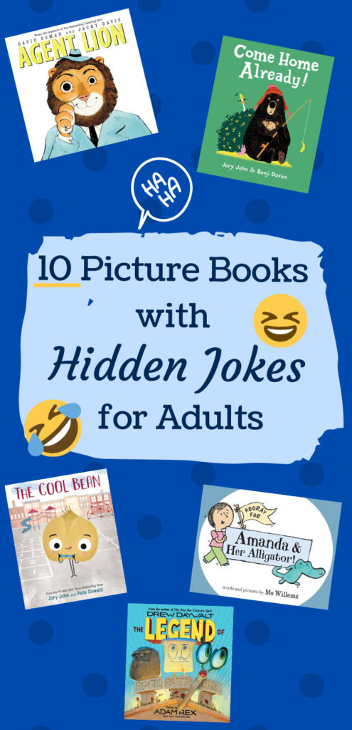 10 picture books with HIDDEN JOKES for adults