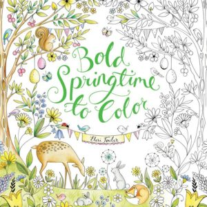 Bold Springtime to Color by Eleri Fowler