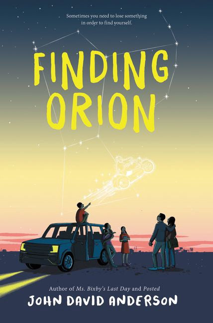 Finding Orion by John David Anderson