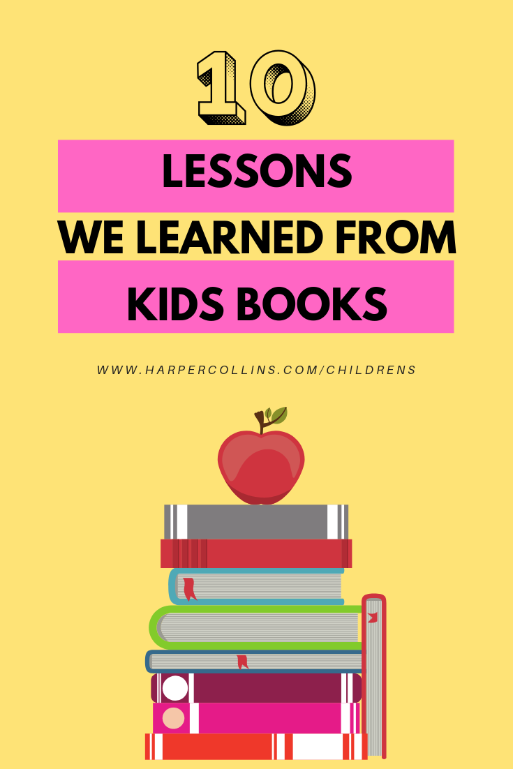 10 lessons we learned from kids books
