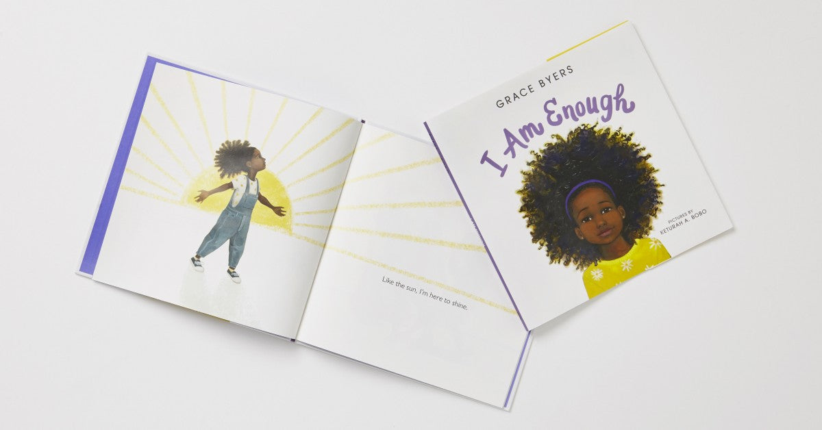 I Am Enough by Grace Byers illustrated by Keturah A. Bobo
