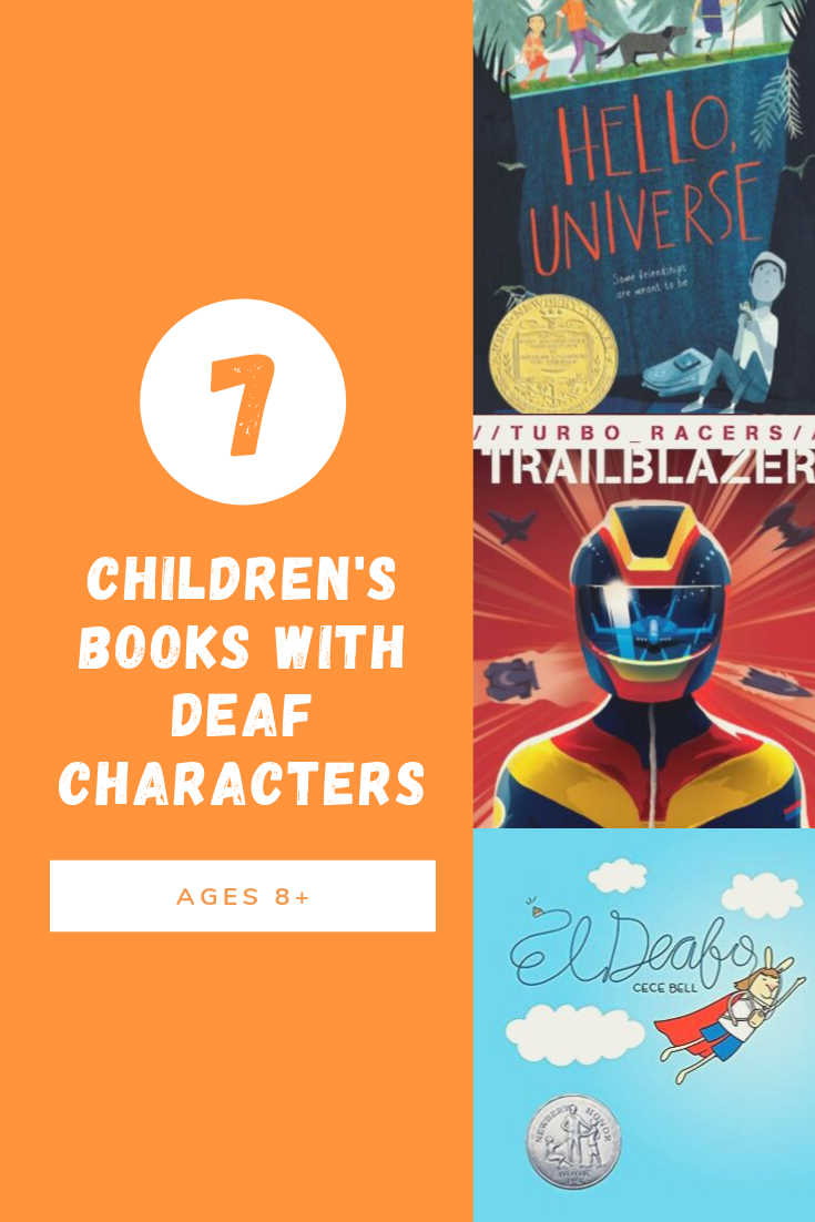7 children's books with deaf characters