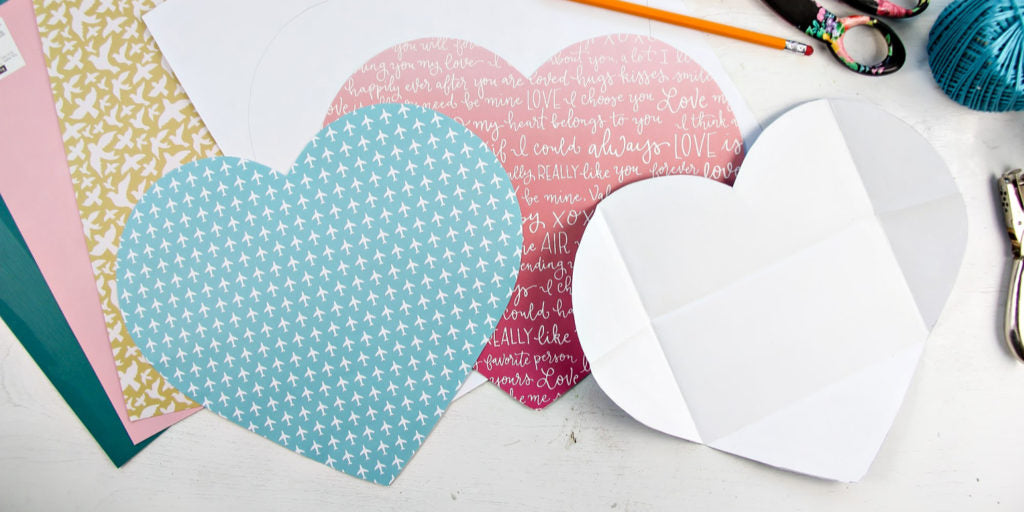 diy love letter step 1