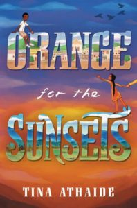 orange for the sunsets by tina athaide