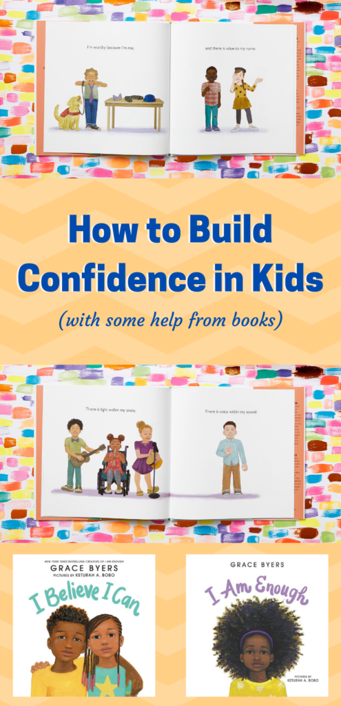 How to Build Confidence in Kids (with some help from books)
