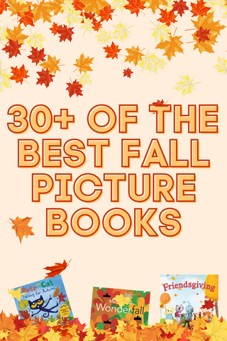 30+ of the best fall picture books for kids and families