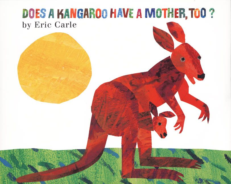 does kangaroo have a mother, too? book