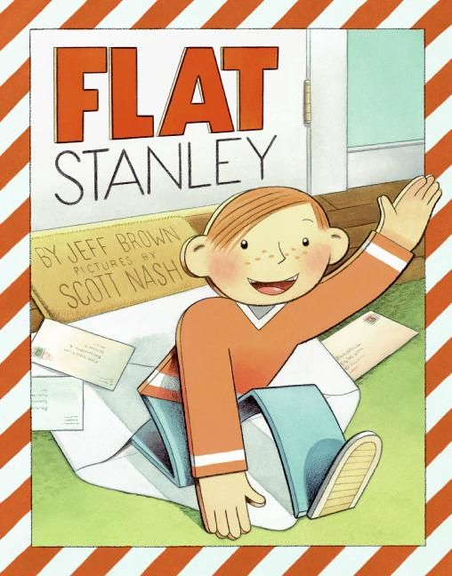 Flat Stanley by Jeff Brown, illustrated by Tomi Ungerer