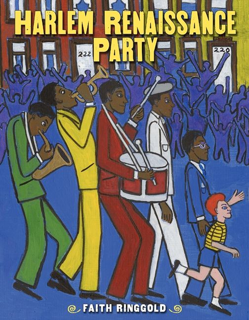 Harlem Renaissance Party by Faith Ringgold