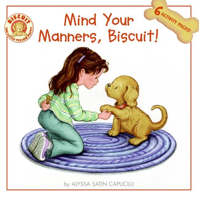 mind your manners biscuit