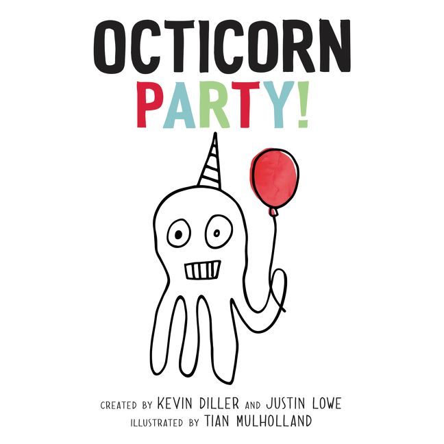 Octicorn Party! picture book