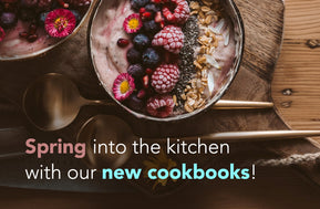 spring cookbooks ad