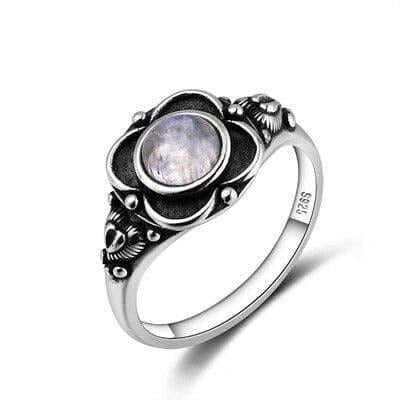 Bague Pierre de Lune Altair - 7 / Moonstone - Pierrelune