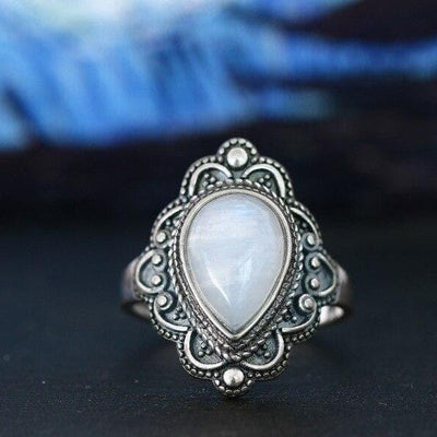Bague Pierre de Lune Antaris - 6 / Moonstone - Pierrelune