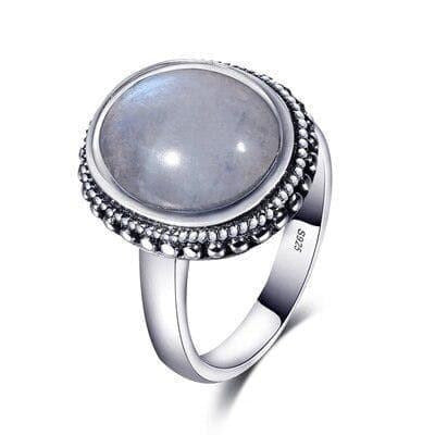 Bague Pierre de Lune Seiros - 6 / Moonstone - Pierrelune