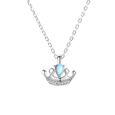 Collier Pierre de Lune Bleue Royale - Pierrelune