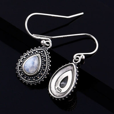 Jewelry 925 Sterling Silver pendant Earrings Pear Shaped