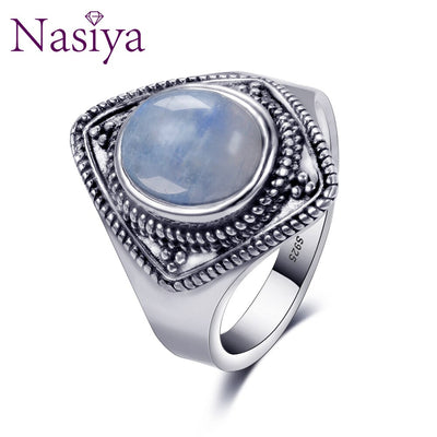 Luxury Brand Vintage Ring For Women Men 925 Silver Jewelry