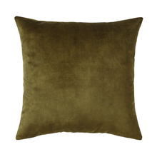Load image into Gallery viewer, Splendour Cushion - Velvet Moss Cushion