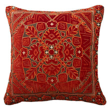 Load image into Gallery viewer, Splendour Cushion - Patterned Red Cushion