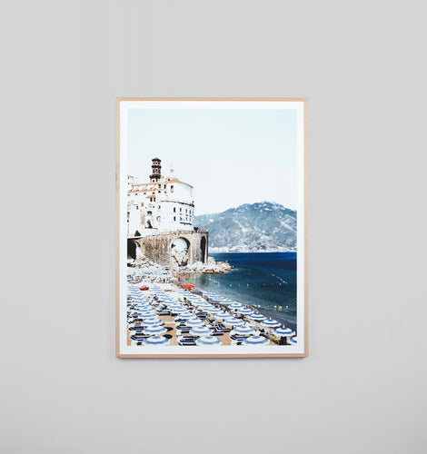 Splendour Framed Art - Amalfi Beach