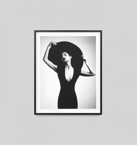 Splendour Framed Art - Black Dress 2