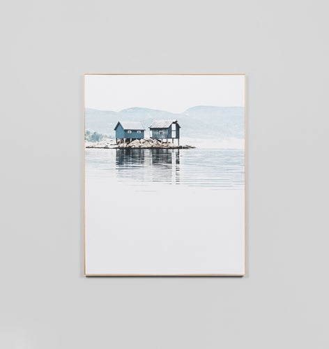 Splendour Canvas Art - Boat House