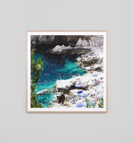 Splendour Framed Art - Capri Sun