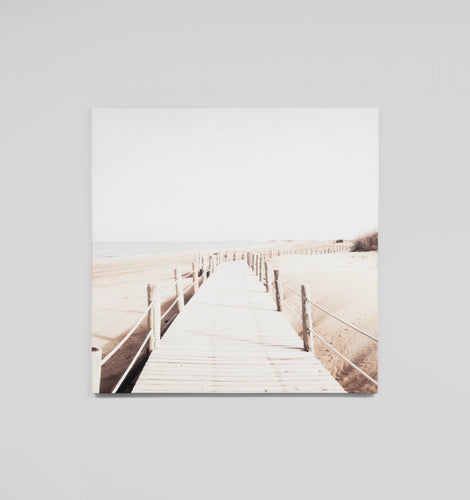 Splendour Canvas Art - Boardwalk