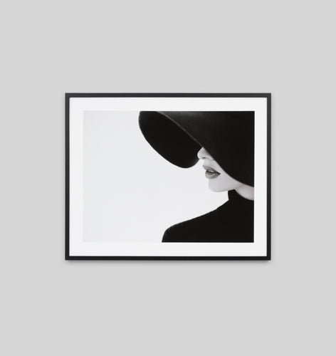 Splendour Framed Art - Lady In Black