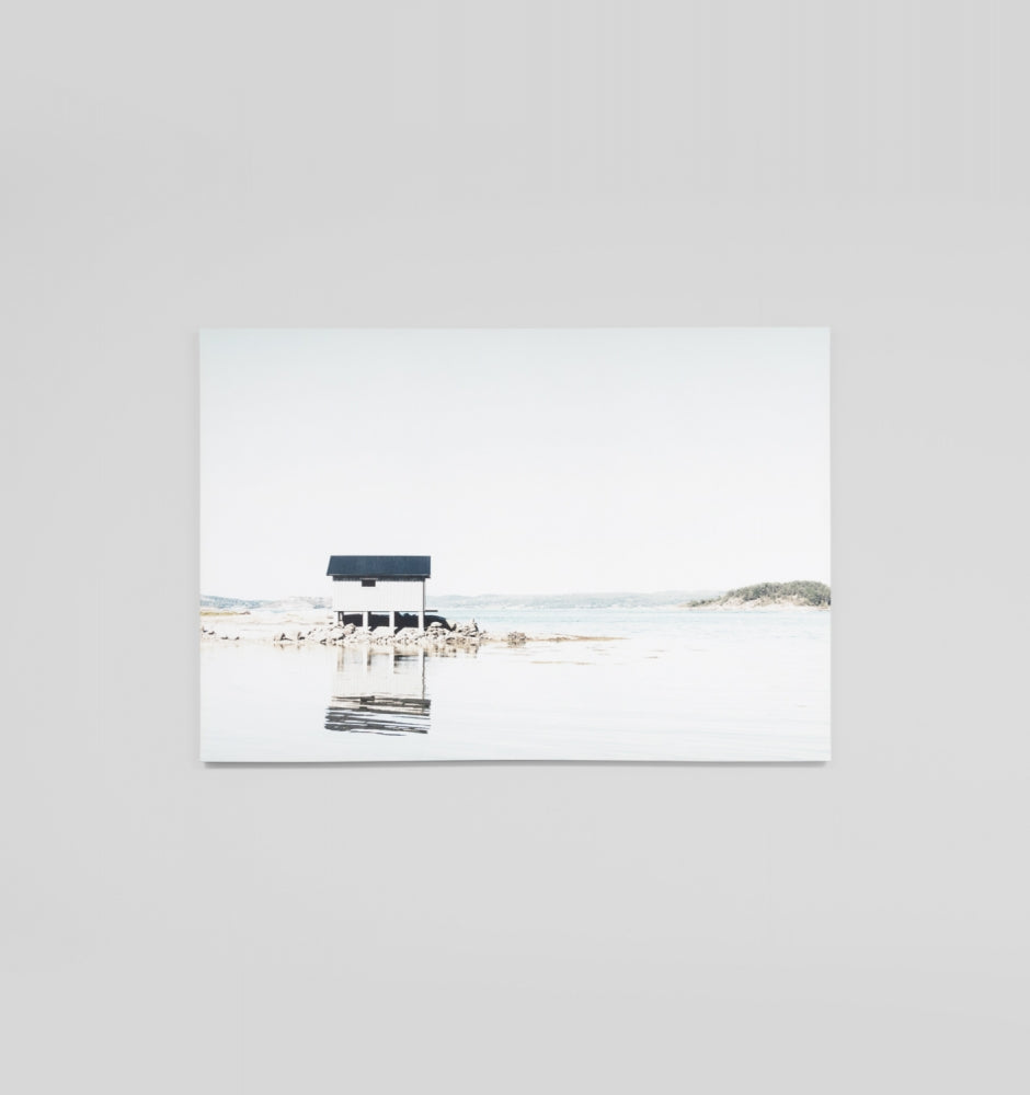 Splendour Canvas Art - Little Boathouse