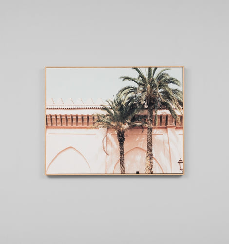 Splendour Canvas Art - Marrakesh Palms