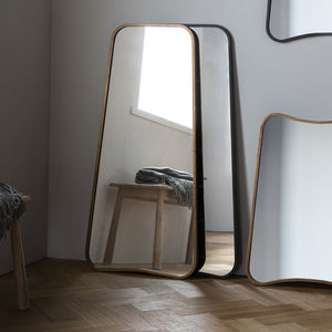 Curved Floor Mirror